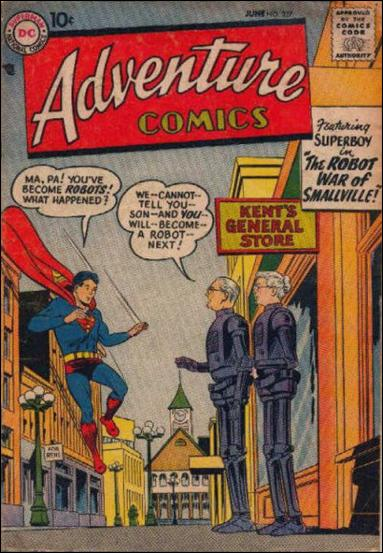 Adventure Comics (1938) 237-A by DC