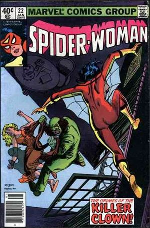 Spider-Woman (1978) 22-A