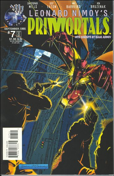 Leonard Nimoy's Primortals (1995) 7-A by Tekno•Comix