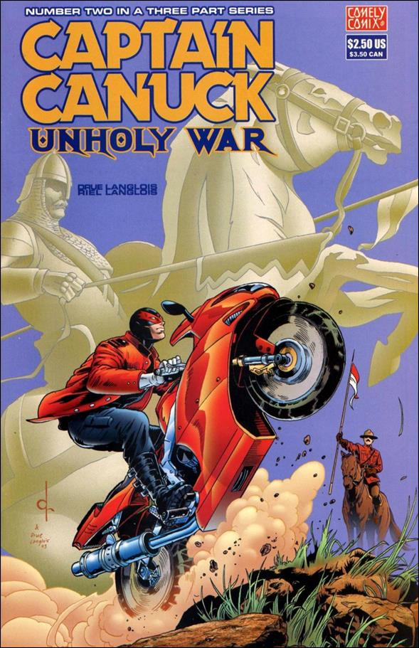 Captain Canuck: Unholy War 2-A by Comely Comix