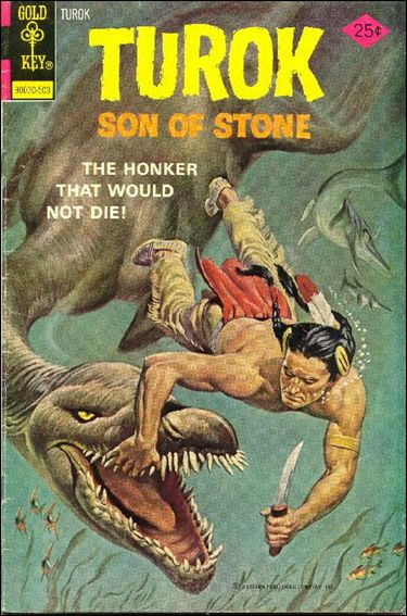 Turok, Son of Stone (1956) 95-A by Gold Key