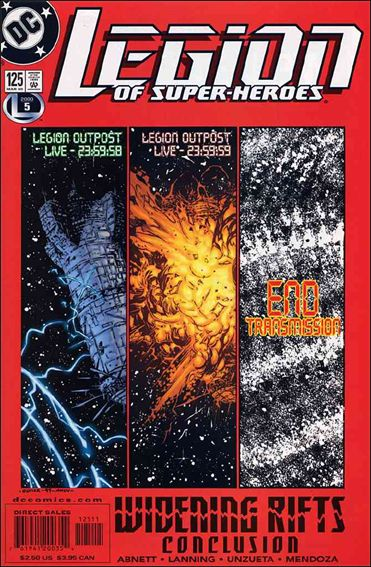 Legion of Super-Heroes (1989) 125-A by DC