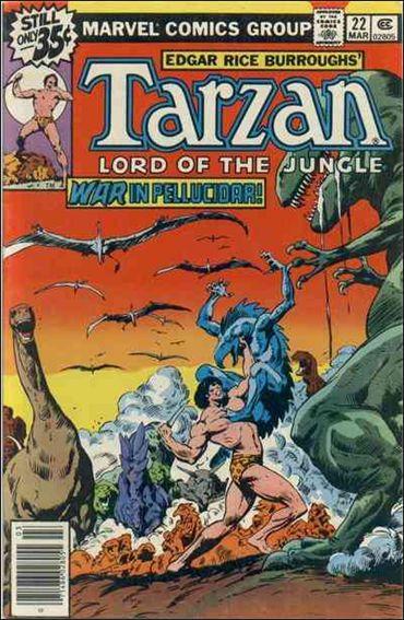 Tarzan (1977) 22-A by Marvel