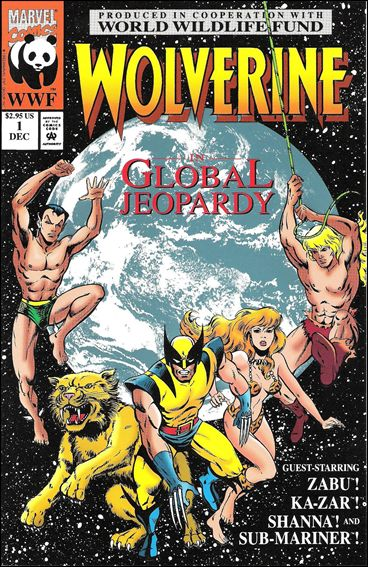 Wolverine: Global Jeopardy 1-A by Marvel