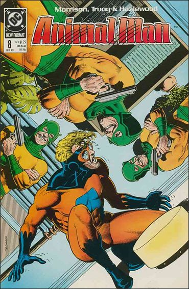 Animal Man (1988) 8-A by Vertigo