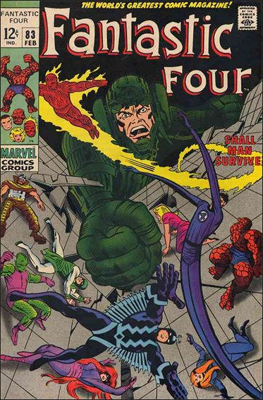 Fantastic Four (1961) 83-A by Marvel