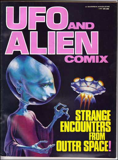 UFO and Alien Comix 1-A by Warren