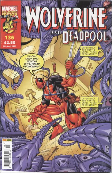 Wolverine and Deadpool (UK) 136-A by Panini
