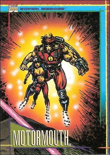 Marvel Universe: Series 4 (Base Set) 129-A by SkyBox