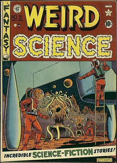 Weird Science (1950) 8-A by E.C.