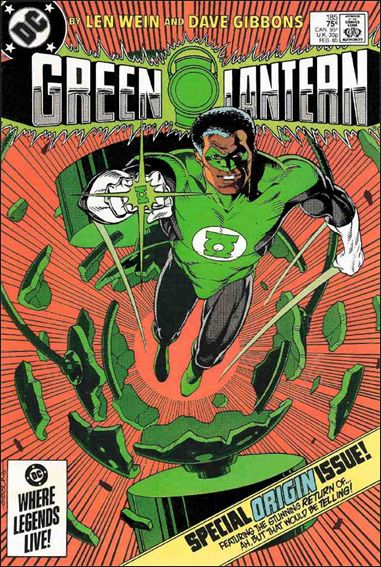 Green Lantern (1960) 185-A by DC
