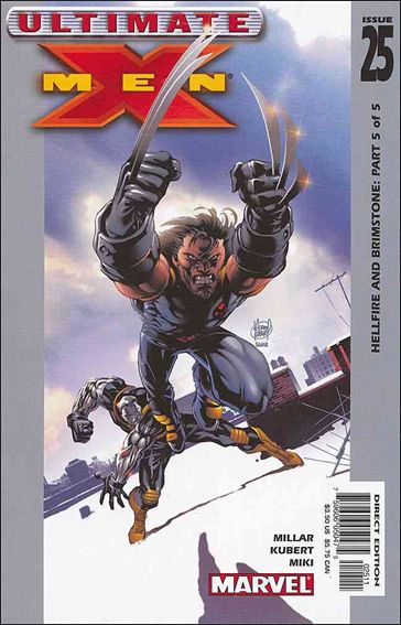 Ultimate X-Men (2000) 25-A by Marvel