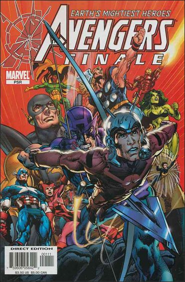 Avengers Finale 1-A by Marvel