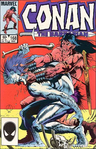 Conan the Barbarian (1970) 168-A by Marvel