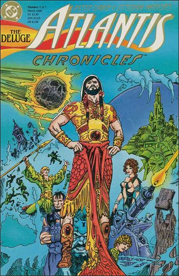 Atlantis Chronicles 1-A by DC