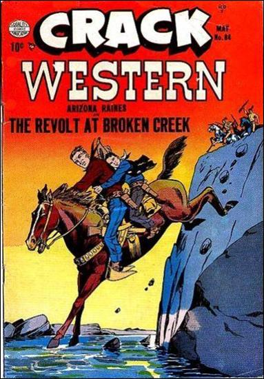 Crack Western Comics 84-A by Quality