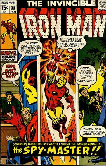 Iron Man (1968) 33-A by Marvel