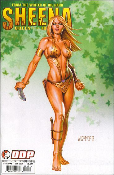 Sheena, Queen of the Jungle (2007) 4-B by Devil's Due
