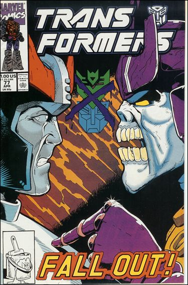 Transformers (1984) 77-A by Marvel