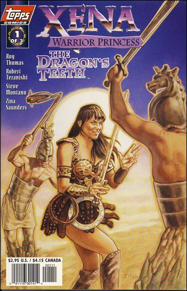 Xena: Warrior Princess/The Dragon's Teeth 1-B by Topps