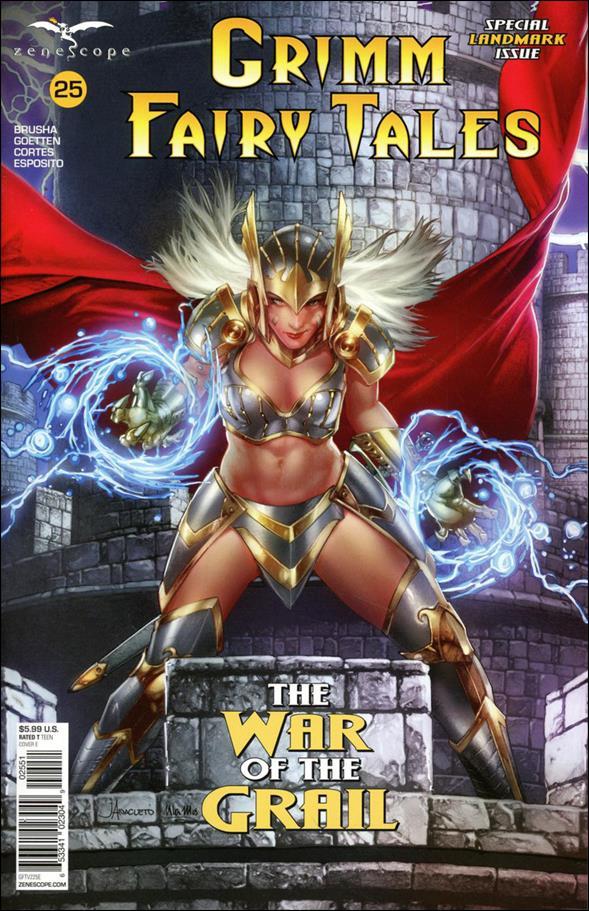 Grimm Fairy Tales (2016) 25-E by Zenescope Entertainment