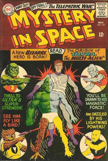 Mystery in Space (1951) 103-A by DC