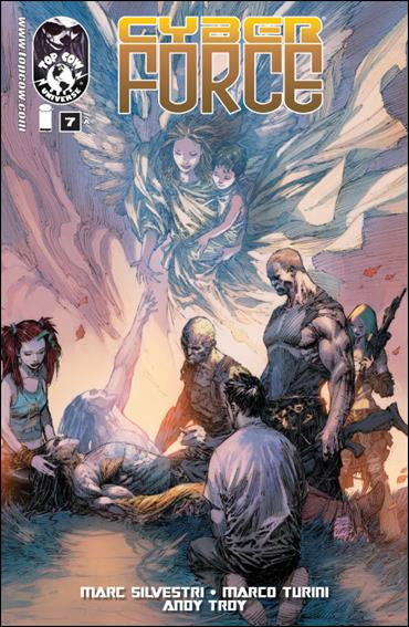 Cyberforce (2012) 7-A by Top Cow