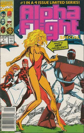 Alpha Flight Special (1991) 1-A by Marvel