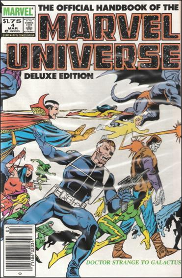 Official Handbook of the Marvel Universe (1985) 4-B by Marvel