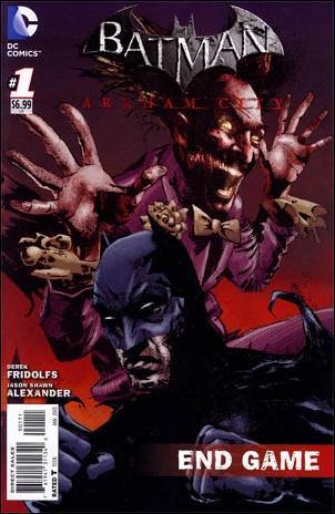 Batman Arkham City: End Game 1-A by DC