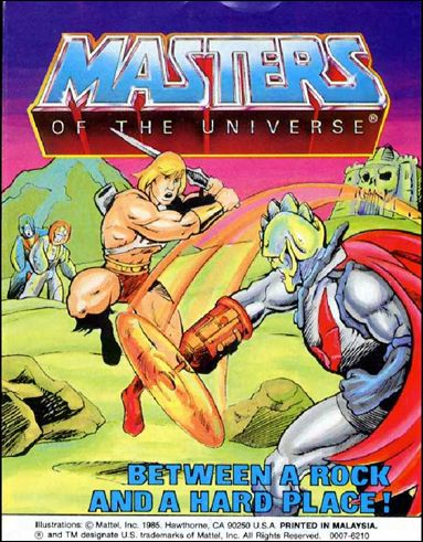 Masters of the Universe (1983) 5.11-A by Mattel