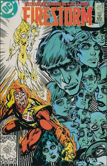 Firestorm The Nuclear Man (1987) 83-A by DC