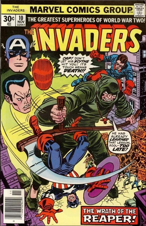 Invaders (1975) 10-A by Marvel