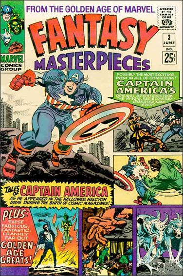 Fantasy Masterpieces (1966) 3-A by Marvel