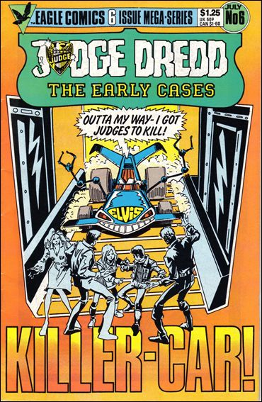 Judge Dredd: The Early Cases 6-A by Eagle
