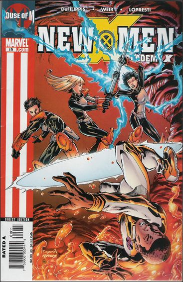 New X-Men: Academy X 19-A by Marvel