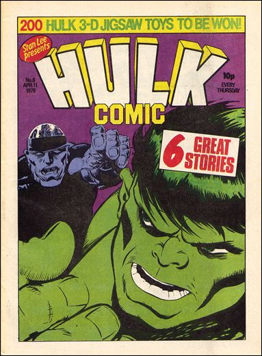 Hulk Comic (UK) 6-A by Marvel UK