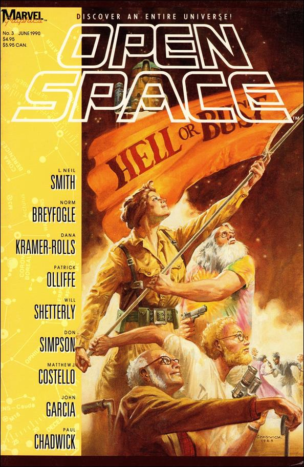 Open Space 3-A by Marvel