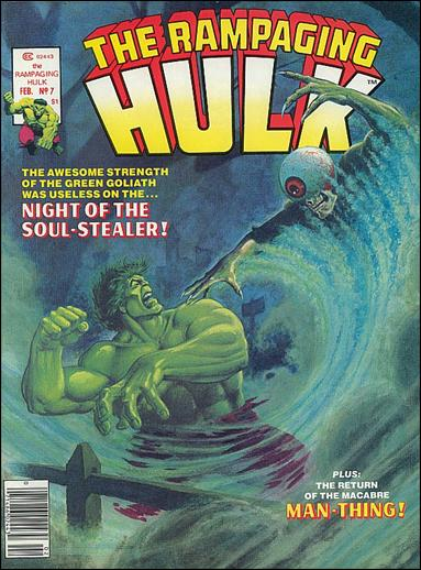 Rampaging Hulk (1977) 7-A by Marvel