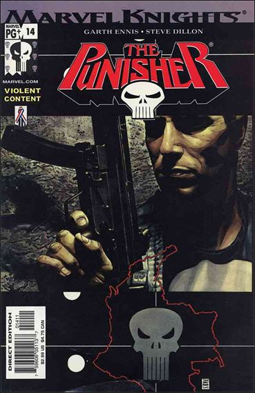 Punisher (2001) 14-A by Marvel