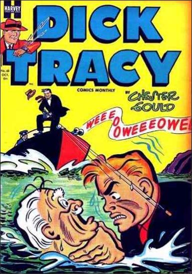 Dick Tracy Comics Monthly 68-A by Harvey
