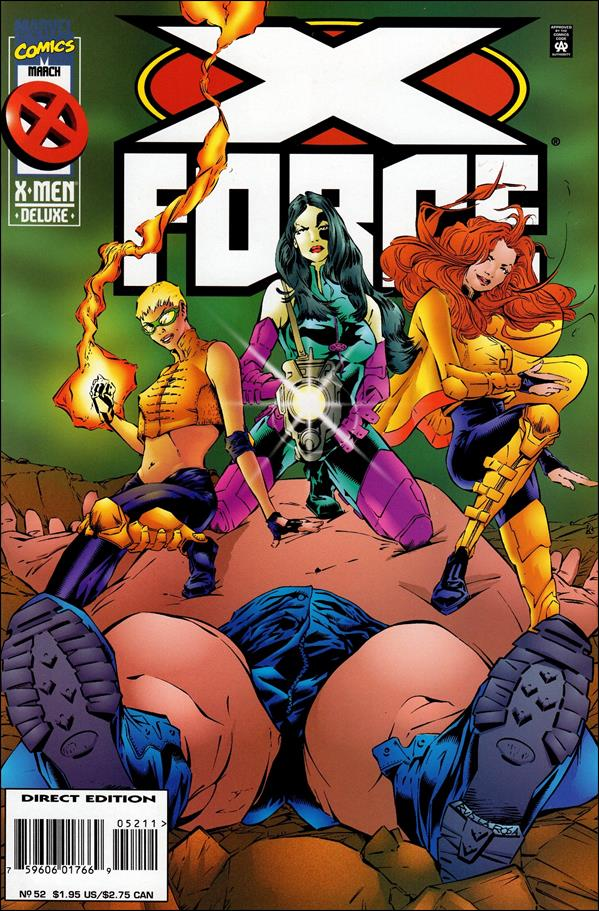 X-Force (1991) 52-A by Marvel