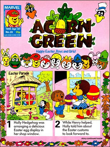 Acorn Green 28-A by Marvel UK