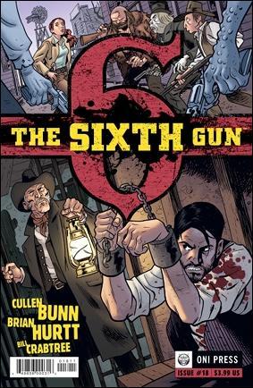 Sixth Gun 18-A by Oni Press
