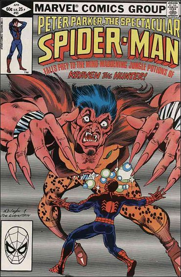 Spectacular Spider-Man (1976) 65-A by Marvel