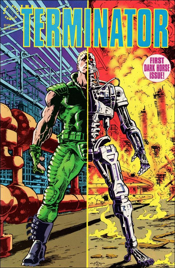 Terminator (1990) 1-A by Dark Horse