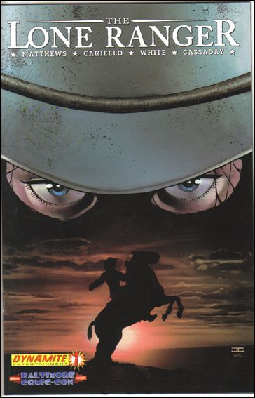 Lone Ranger (2006) 1-D by Dynamite Entertainment