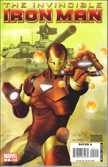 Invincible Iron Man (2008) 2-A by Marvel