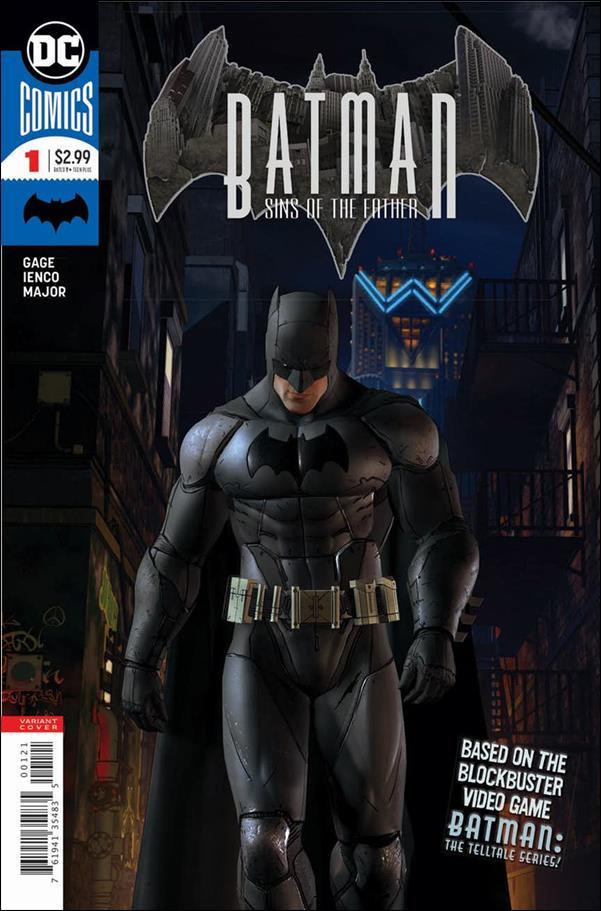 Batman: Sins of the Father 1-B by DC