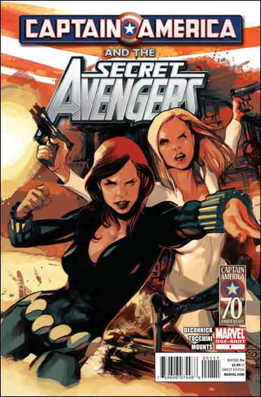 Captain America and the Secret Avengers 1-A by Marvel